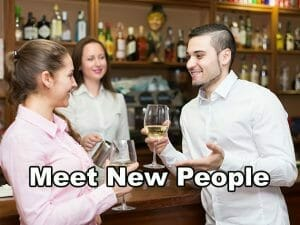 Meet new people regularly when you are a bartender. Bartending jobs and job placement assistance from Riverside Bartending School.