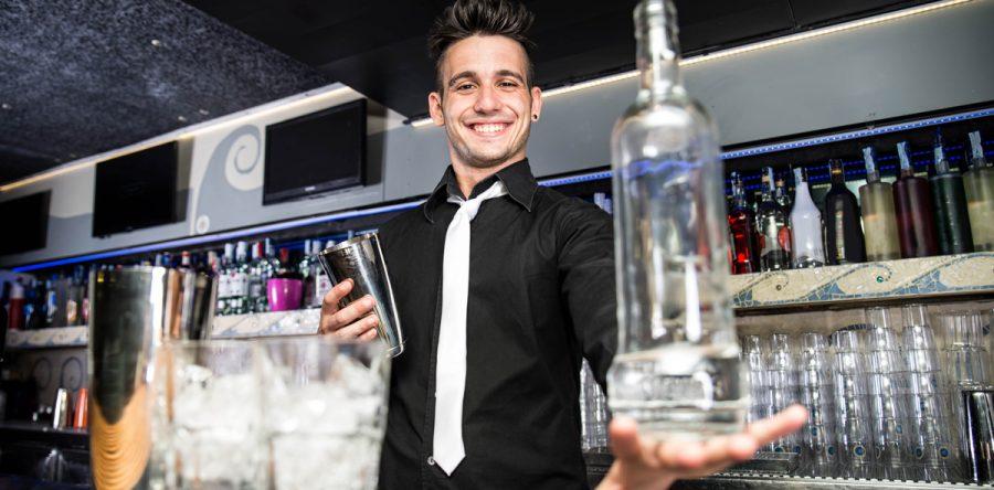 get a bartender job riverside bartending school